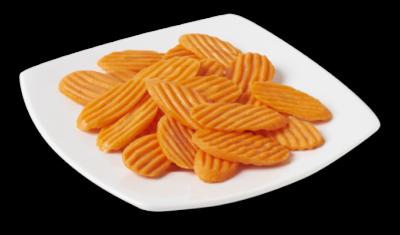 Carrot Chips 3/16