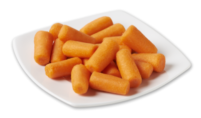 Chunk Carrots - peeled & unpeeled 2