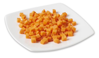 Diced Carrots 3/8